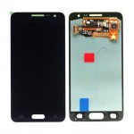 Lcd With Touch Screen For Samsung Galaxy A3 Black By - Maxbhi Com
