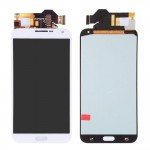 Lcd With Touch Screen For Samsung Galaxy E7 White By - Maxbhi Com