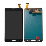 Lcd With Touch Screen For Samsung Galaxy Note 4 Black By - Maxbhi Com