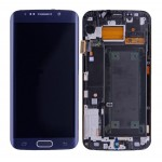 Lcd With Touch Screen For Samsung Galaxy S6 Edge Black By - Maxbhi Com