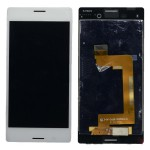 Lcd With Touch Screen For Sony Xperia M4 Aqua Dual White By - Maxbhi Com