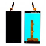 Lcd With Touch Screen For Xolo 8x1000 Black By - Maxbhi Com