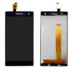 Lcd With Touch Screen For Xolo Q1010 Black By - Maxbhi Com