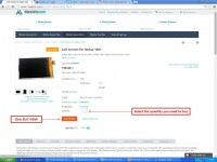 How to make new order on Maxbhi.com Step 4