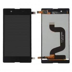 Lcd With Touch Screen For Sony Xperia E3 Dualblack By - Maxbhi Com