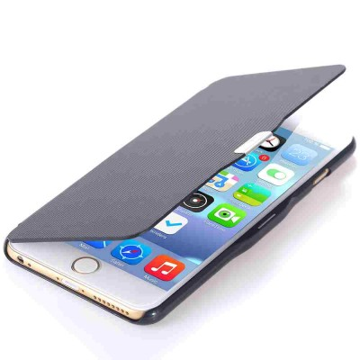 Flip Cover for Apple iPhone 6s - Black