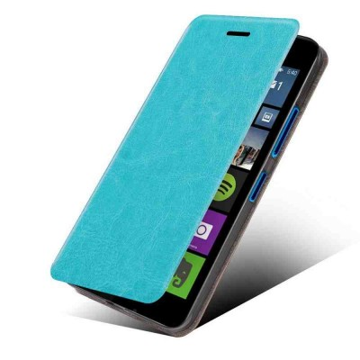 Flip Cover for Microsoft Lumia 540 Dual SIM - Blue