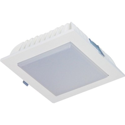 18 Watt LED Extended Square Down Light - 160 mm, White