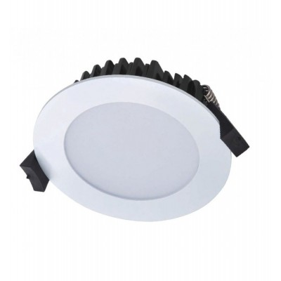 18 Watt LED Waves Round Down Light - 180 mm, White