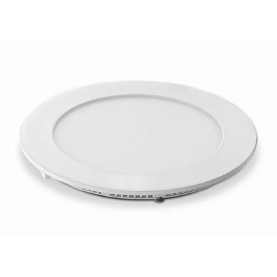6 Watt LED Elite Round Panel Down Light - 115 mm, White