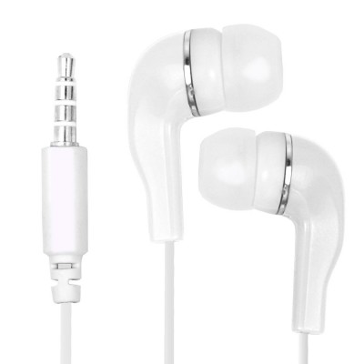 Earphone for Lenovo A6000 - Handsfree, In-Ear Headphone, 3.5mm, White