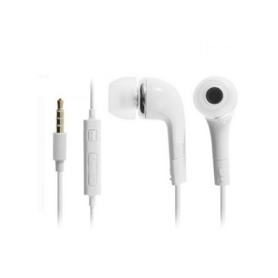 Earphone for Micromax A104 Canvas Fire 2 - Handsfree, In-Ear Headphone, 3.5mm, White
