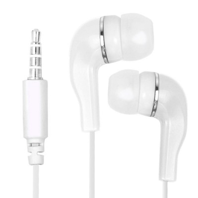 Earphone for Micromax Canvas 5 - Handsfree, In-Ear Headphone, 3.5mm, White