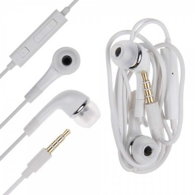 Earphone for Samsung Guru Music 2 SM-B310E - Handsfree, In-Ear Headphone, White