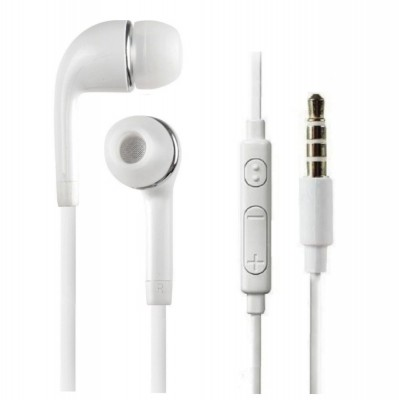 Earphone for Samsung Metro B313 - Handsfree, In-Ear Headphone, 3.5mm, White
