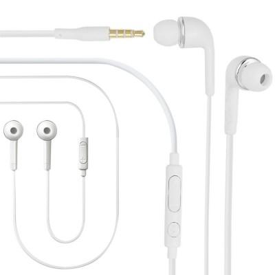 Earphone for Zebronics Zebpad 7t500 3G - Handsfree, In-Ear Headphone, 3.5mm, White