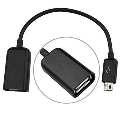 USB OTG Adapter Cable for Samsung Galaxy S Duos 3 SM-G313HU