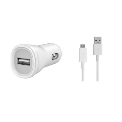 Car Charger for Xiaomi Redmi Note 3 32GB with USB Cable
