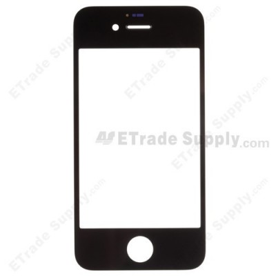 Glass for Apple iPhone 4S Black