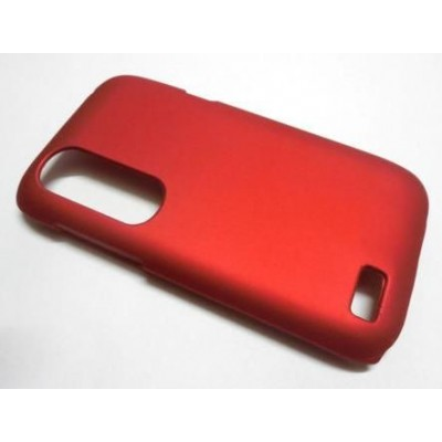 Back Case for HTC Desire X Dual SIM with dual SIM card slots - Red