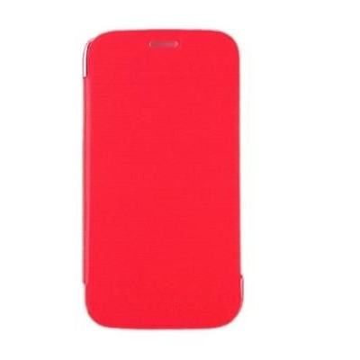 best service e8a14 7efe2 Flip Cover for Micromax Canvas Juice 2 - Red