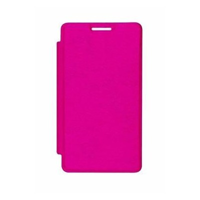 finest selection 3bfa2 a4e38 Flip Cover for Micromax Unite 3 Q372 - Pink