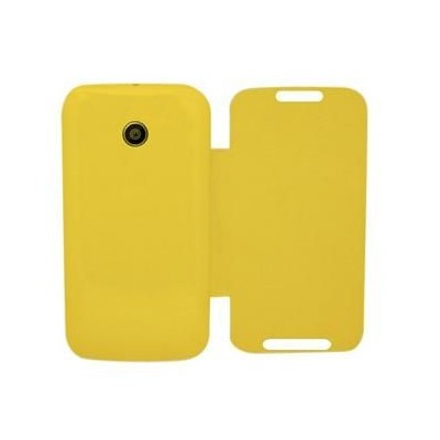 on sale eaf23 538c2 Flip Cover for Moto E 2nd Gen 4G - Yellow