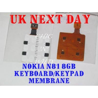 Internal Keypad For Nokia N81