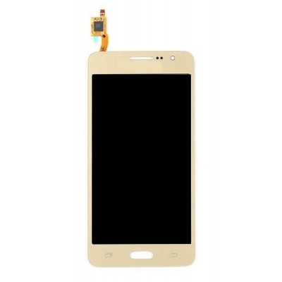 Lcd With Touch Screen For Samsung Galaxy Grand Prime Smg530h Gold By - Maxbhi.com
