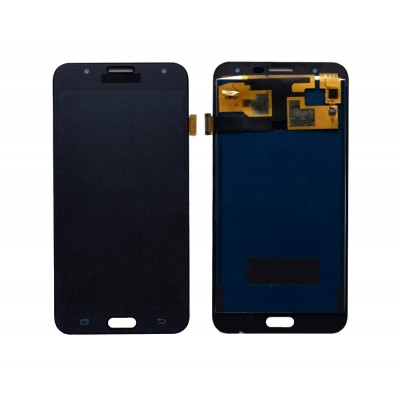 Lcd With Touch Screen For Samsung Galaxy J7 Black By - Maxbhi Com