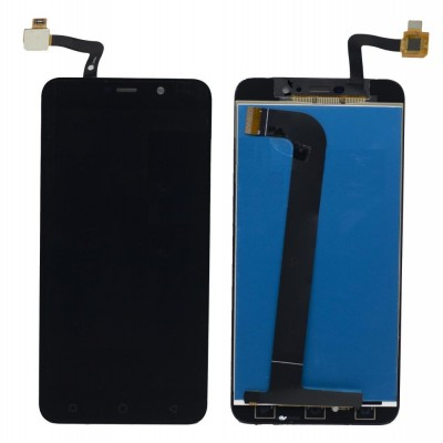 Lcd With Touch Screen For Coolpad Note 3 Lite Black By - Maxbhi Com