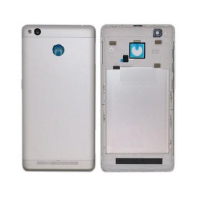 Full Body Housing For Xiaomi Redmi 3s Prime Silver - Maxbhi Com