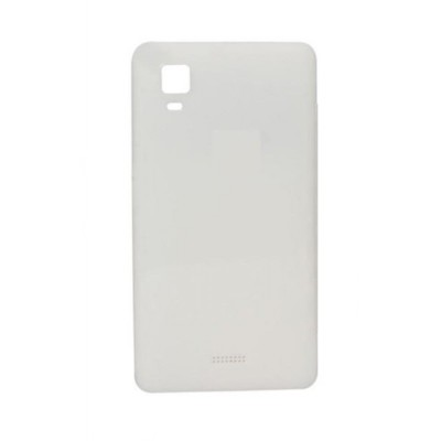 Back Panel Cover For Micromax A102 Canvas Doodle 3 White - Maxbhi.com