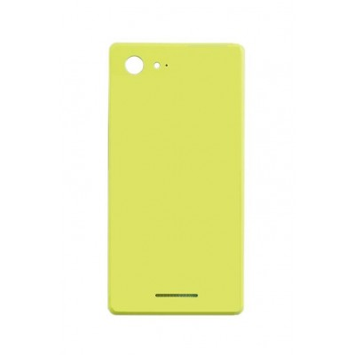 Back Panel Cover For Sony Xperia E3 Dual D2212 Yellow - Maxbhi.com