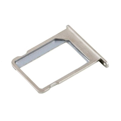SIM Card Holder Tray for Lyf Water 7 - Silver - Maxbhi.com