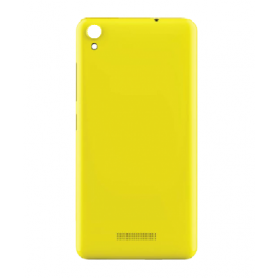 Back Panel Cover For Gionee P5w Yellow - Maxbhi.com