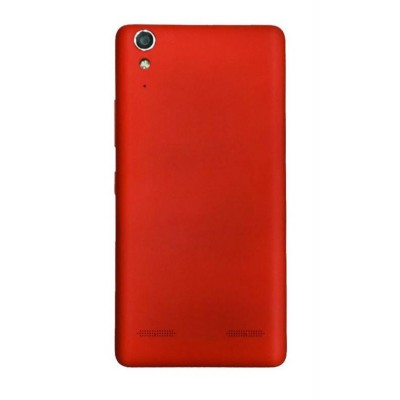Full Body Housing For Lenovo A6000 Plus Red - Maxbhi.com