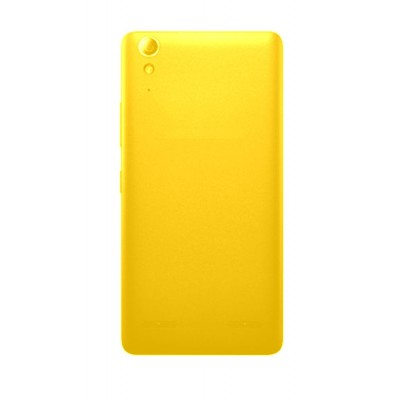 Full Body Housing For Lenovo A6000 Plus Yellow - Maxbhi.com