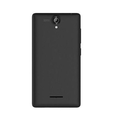 super popular 6ad01 c3dbd Back Panel Cover for Micromax Bolt Q332 - Black
