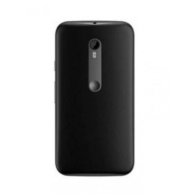 Back Panel Cover for Motorola Moto G Turbo - Black