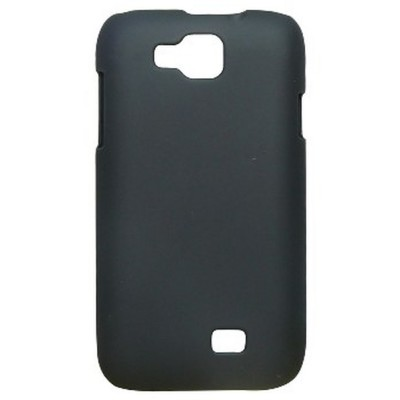 Back Case for Micromax A63 Canvas Fun Black