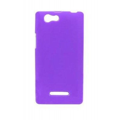 Back Case for XOLO A500S Purple