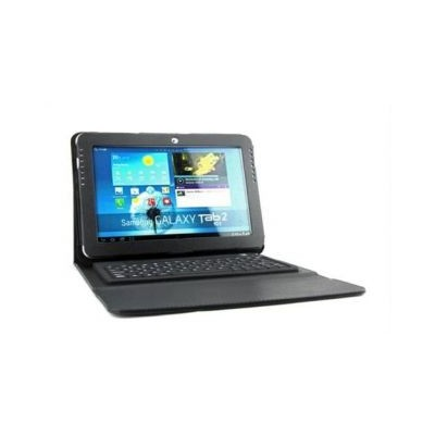 Bluetooth KeyBoard For Samsung P510 With Leather Cover