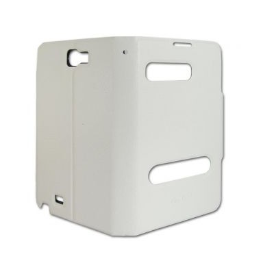 timeless design 2385c 17156 Flip Cover for Nokia Asha 308 - White