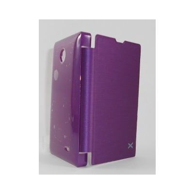 sports shoes 48731 de0cd Flip Cover for Nokia X Dual SIM RM-980 Purple
