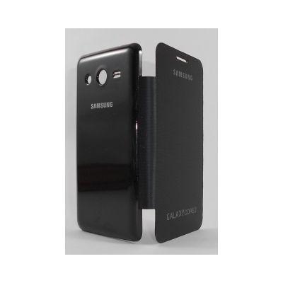 online store 52016 455c1 Flip Cover for Samsung Galaxy Core II Dual SIM SM-G355H - Black