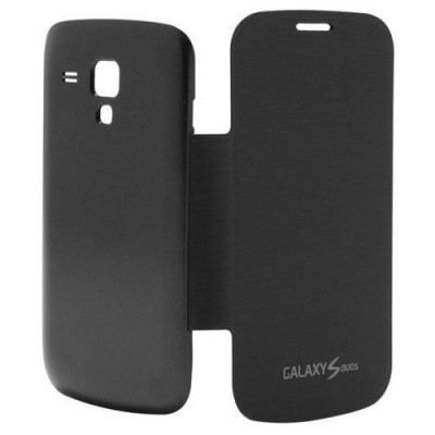 Flip Cover for Samsung Galaxy S Duos 2 S7582 Black
