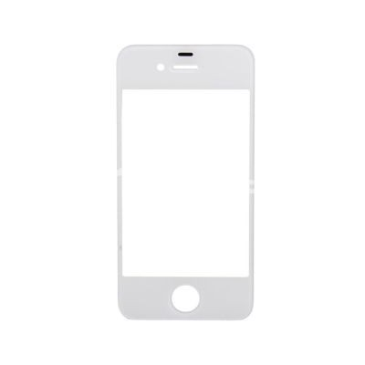 Front Glass Lens for Apple iPhone 4 White