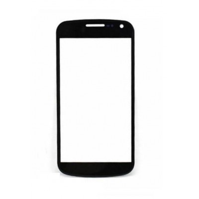 Replacement Front Glass For Samsung Google Galaxy Nexus 3 I9250 Black By - Maxbhi Com