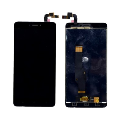 Lcd With Touch Screen For Xiaomi Redmi Note 4 64gb Black By - Maxbhi Com